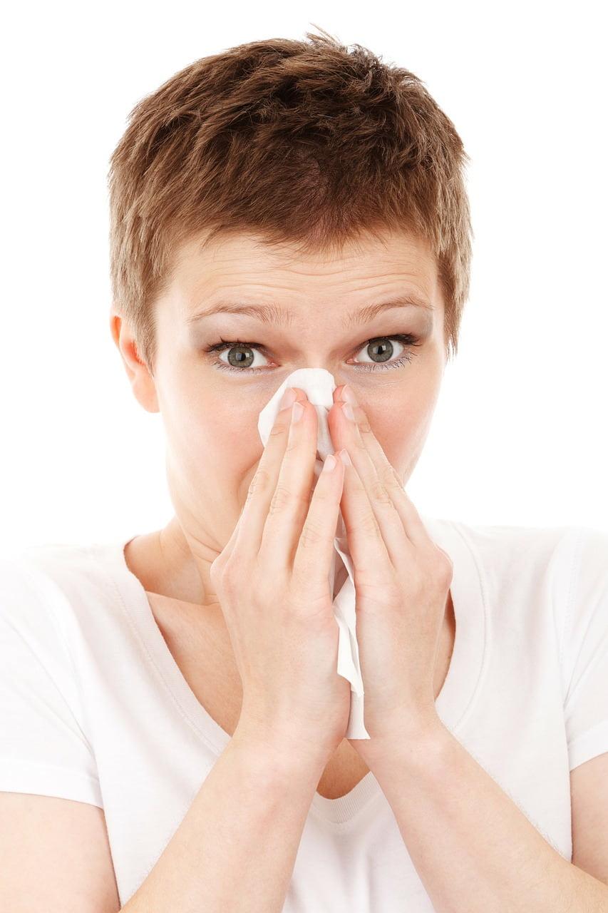 herpes inuti näsan